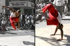 Breakdancing In Tribeca